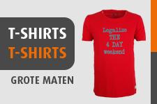 T-Shirts in Grote Maten Online Kopen