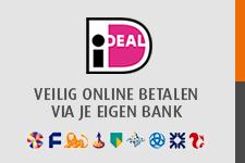 Veilig betalen via iDeal