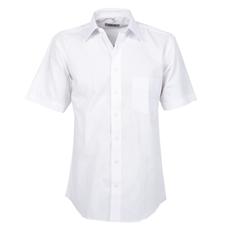 Arrivee Grote Maten Overhemd uni Wit korte mouw