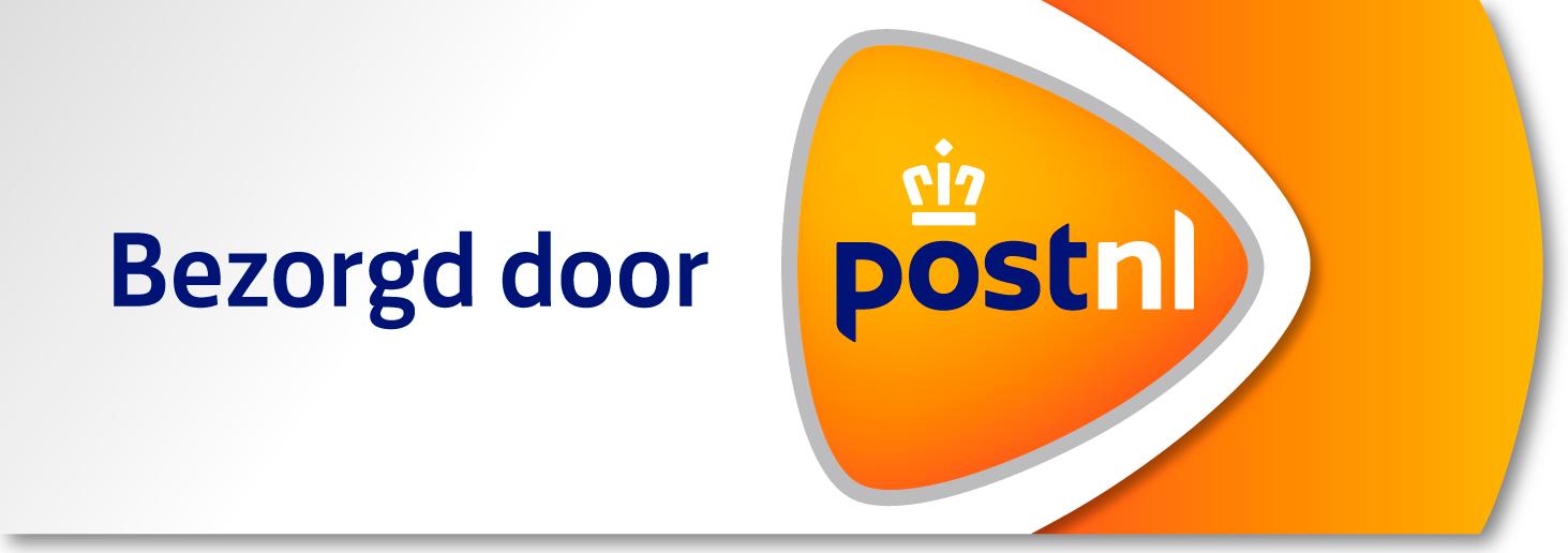Je bestelling wordt bezorgd door PostNL